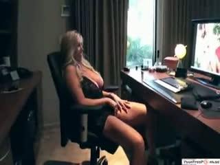 watching porn video