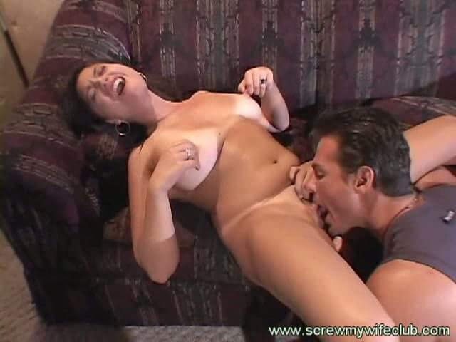 Husband Licking Wifes Pussy