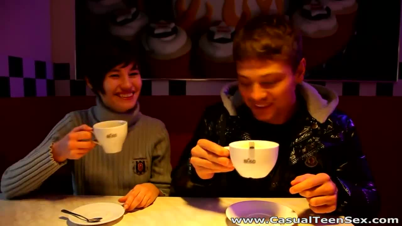 video alina geizer ivan casual after coffee