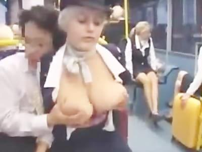 branle dans le bus