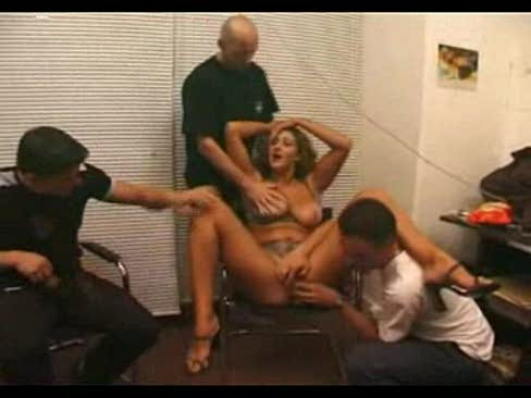 Oiled slut sucks cock and gets fucked sexwall your_photo1452