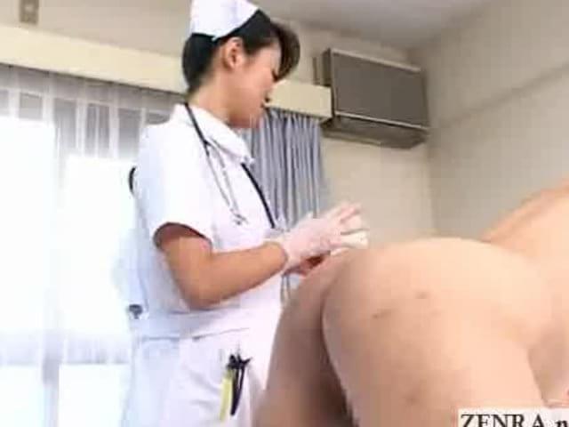 Lesbian Nurse Fucks Patient
