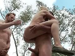 Chastity lynn bound gangbang