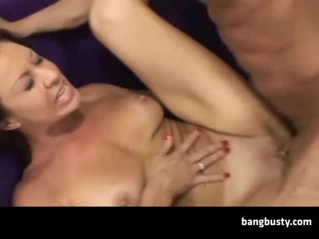 Milf enema and anal