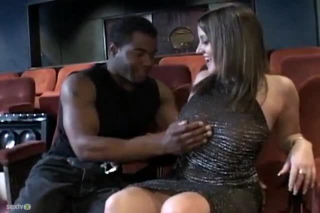 The best wife got fucked in a theater