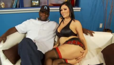 Claire Dames fucked by black cock