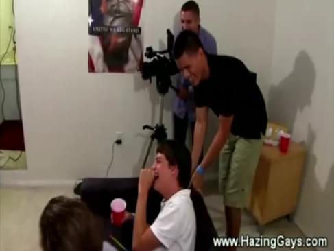 college boys perform gay acts for intiation