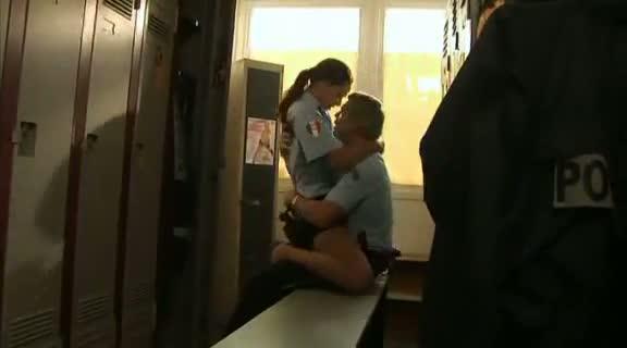 police nude locker room