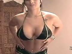 corina curves boob bounce