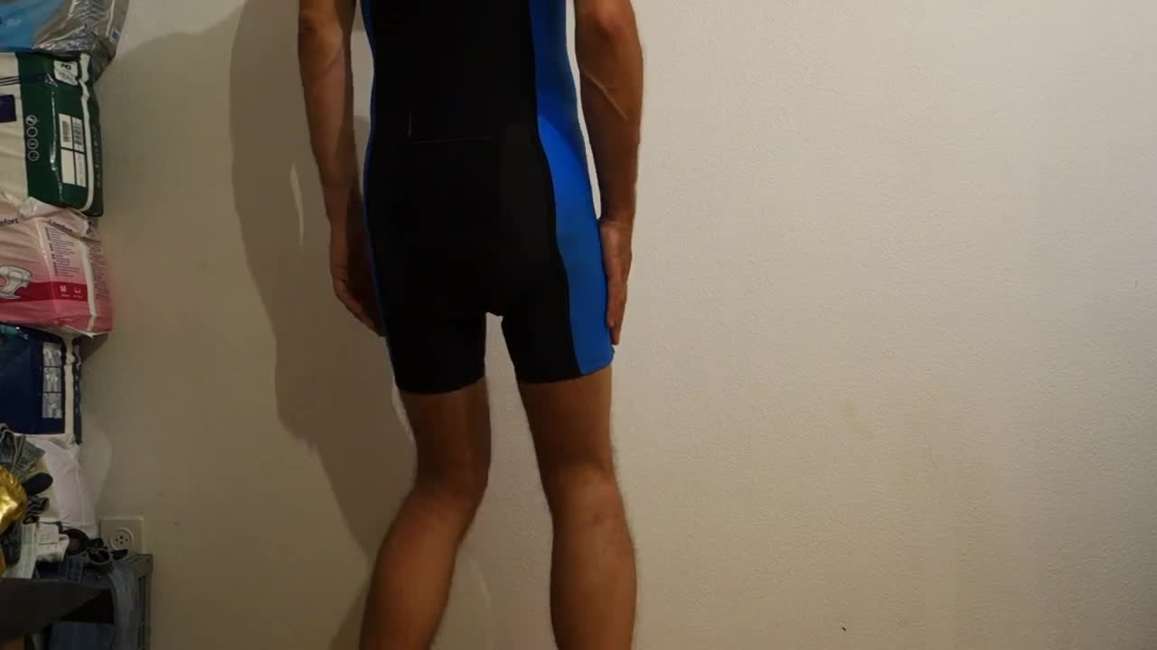 gay tube shiny shorts