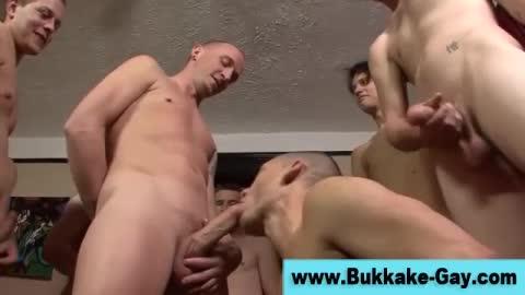 Cum Loving Amateur Bukkake Twink