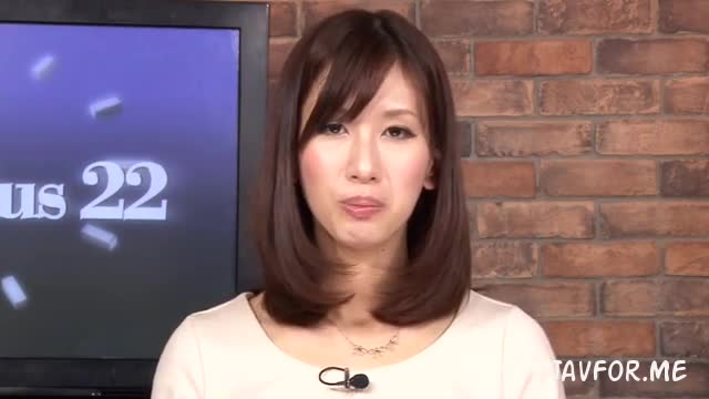 Cute Asian Anchor