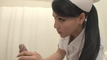 Japanese nurse blowjob