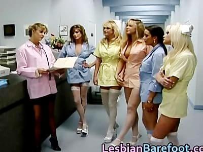 cute lesbian nurse
