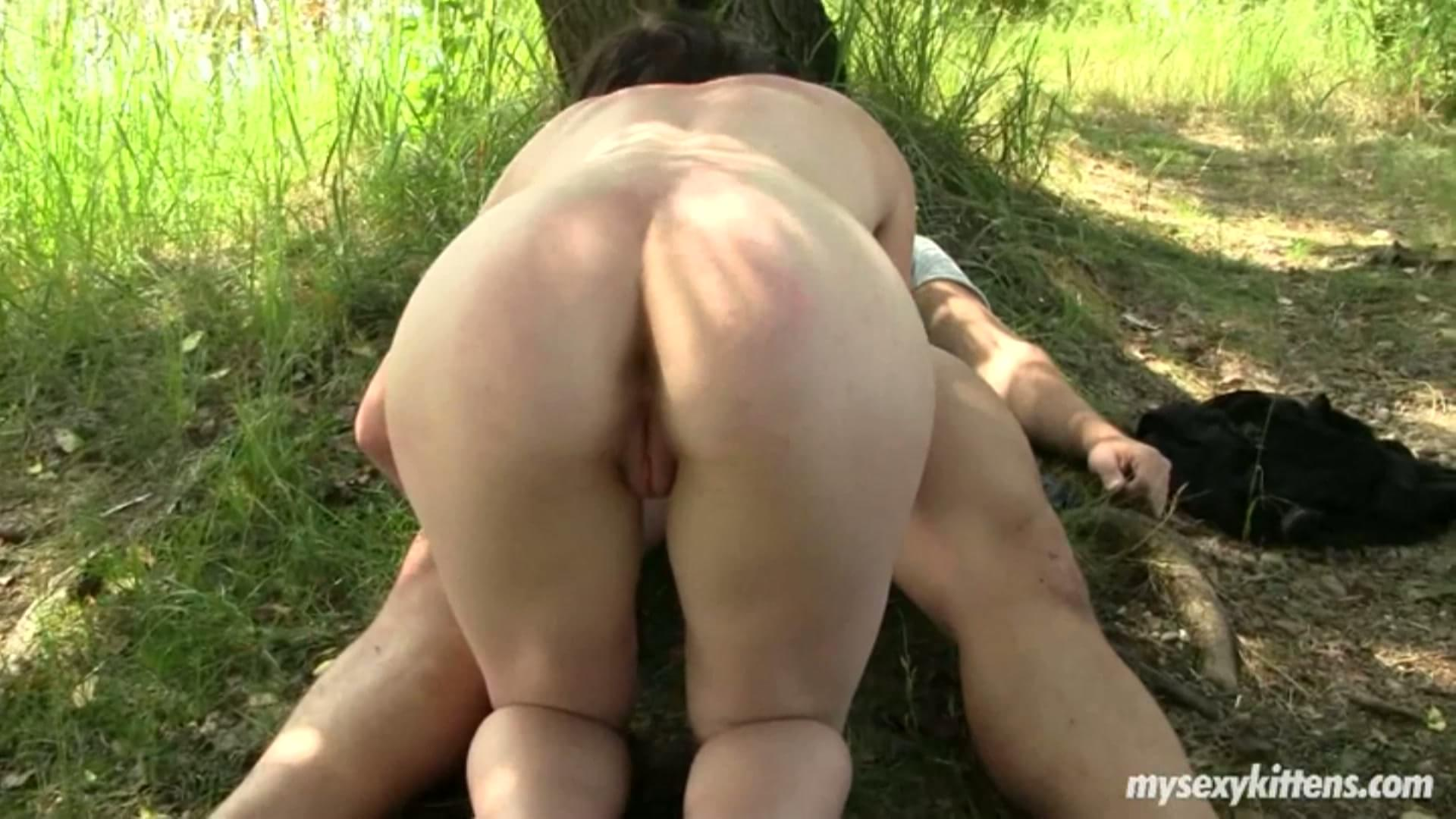 fucking in the woods porn