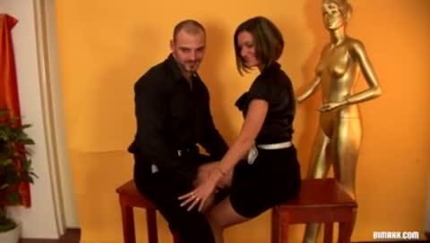 Reverse italian baker sex position