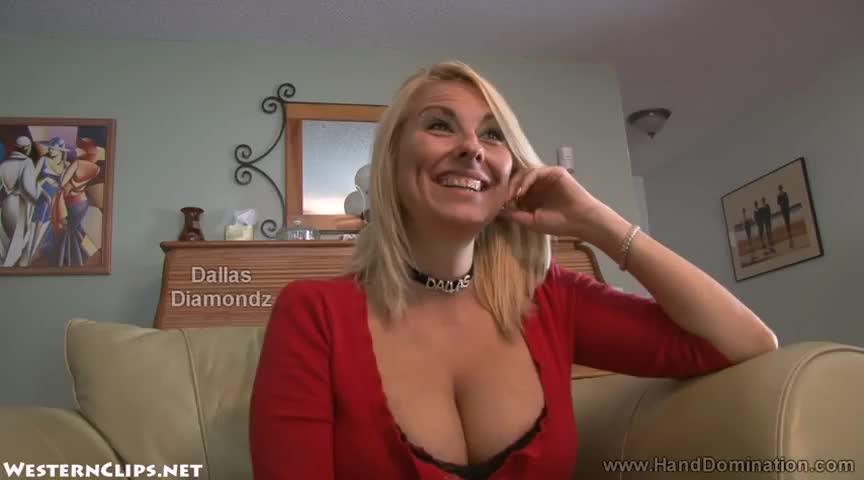 Dallas diamondz handjob