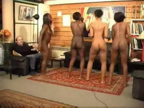 Naked dancers black