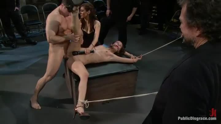 brutal public gangbang pussy punishment
