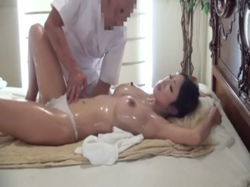 Young wife massage