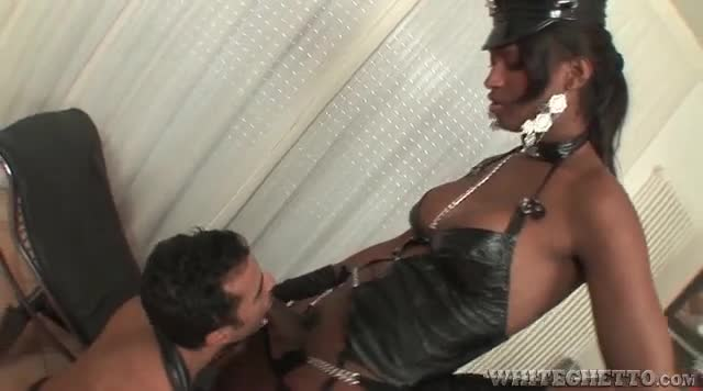 Black dominant shemale
