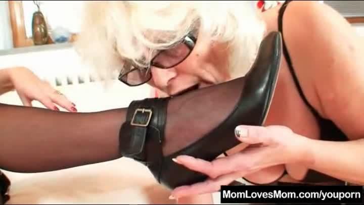 Mature lesbian dominant