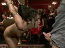 Giving her birthday spankings