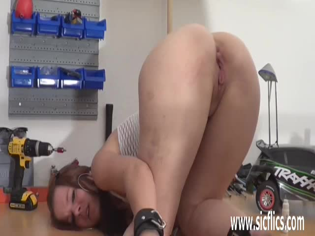 Mom under table blowjob