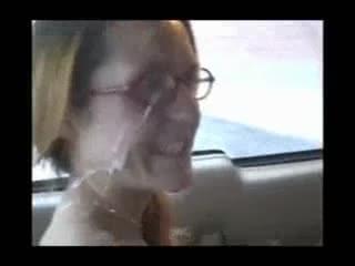 Photo facial at mcdonalds drive thru