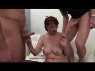 Bbw mature femdom spanking in stockings