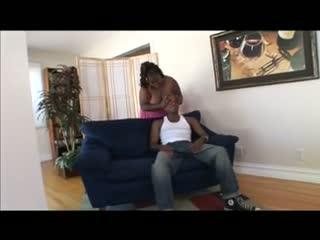 Bbw ebony getting rammed bij 2 dicks
