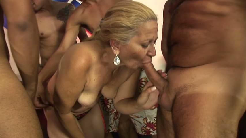 rough mature gangbang tube