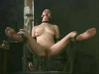 Chair lesbian bondage gyno