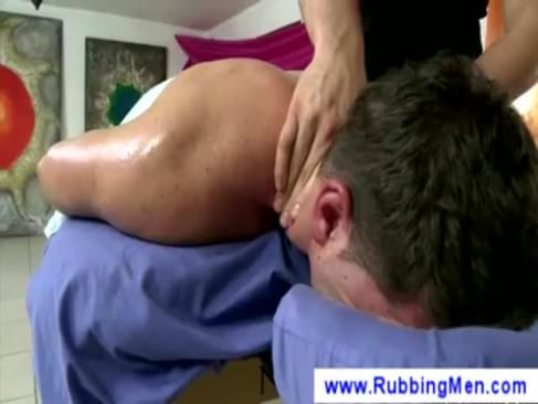 erotic massage from a gay masseurcurious man gets an erotic massage from a ...