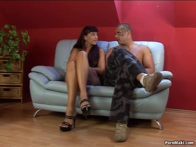 Handcuffed blowjob milf wife