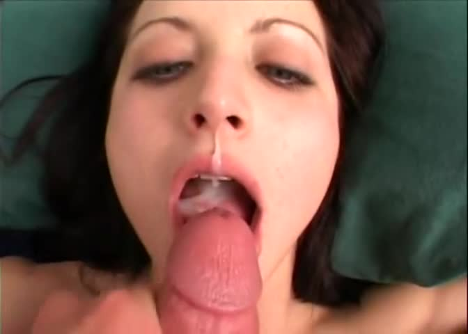 You mean? nude woman swallowing cum