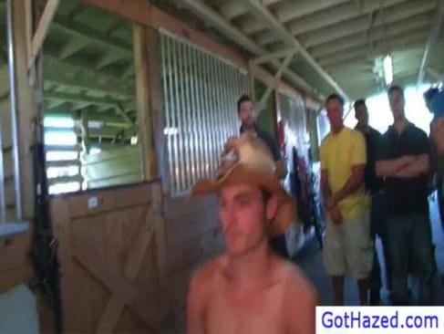 Extreme Farm Gay Hazing