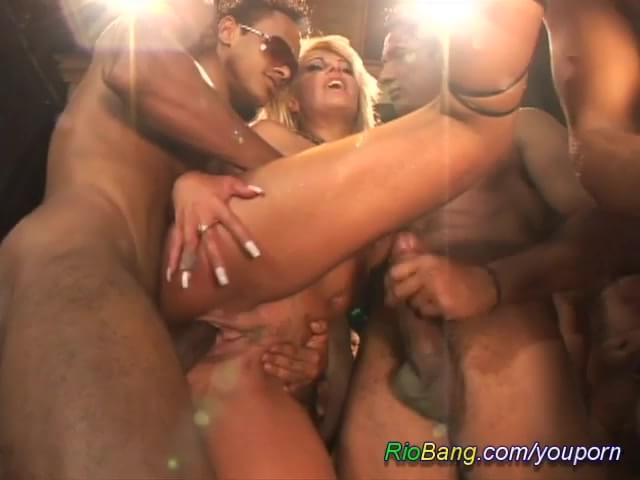Hardcore GangBang sex video and