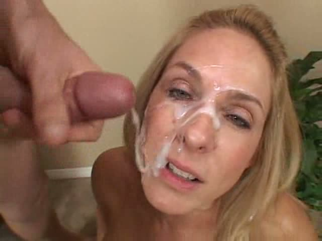 Milf with cum catcher gets fucked