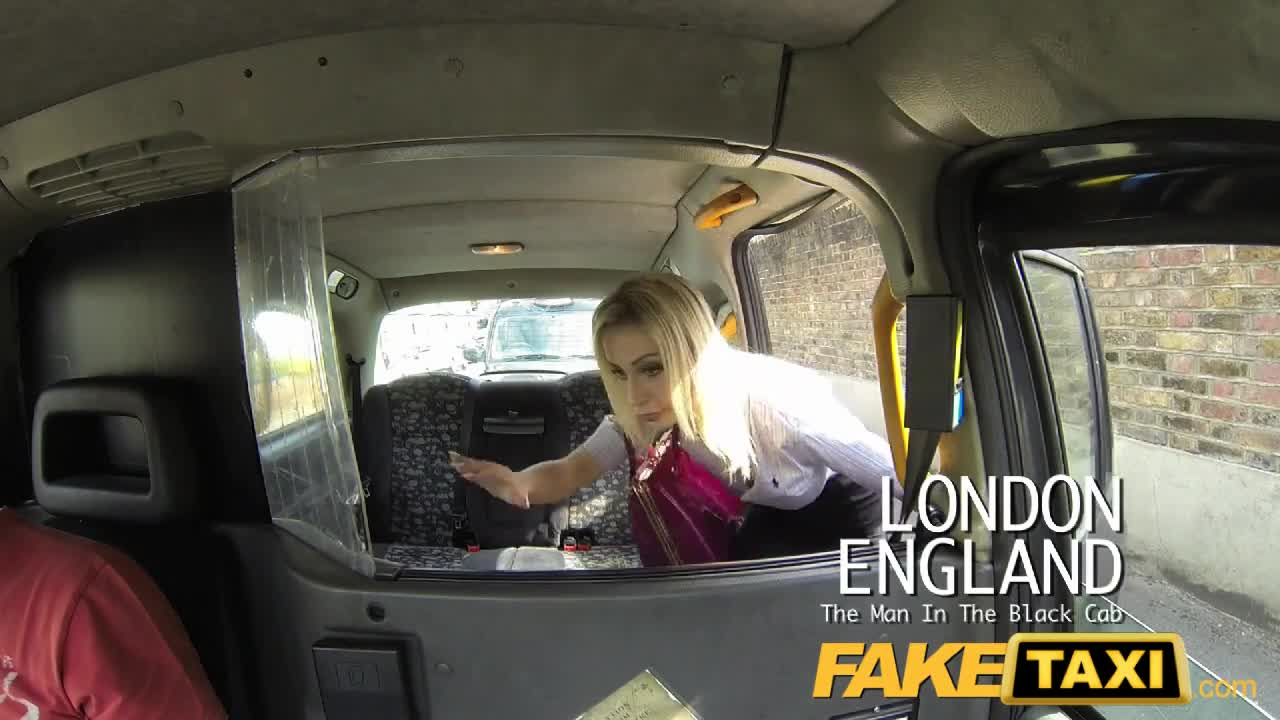 Bonnet taxi over blonde fake fucked horny
