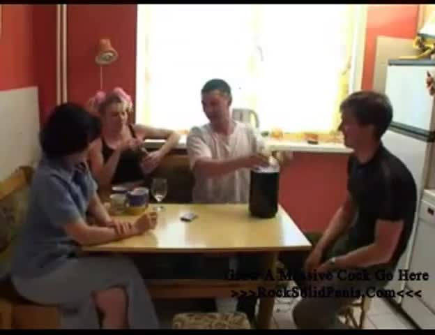 family strip poker videos