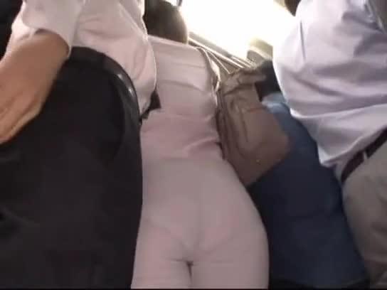 Orgasm on bus