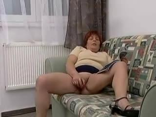With Fat grand mother sex