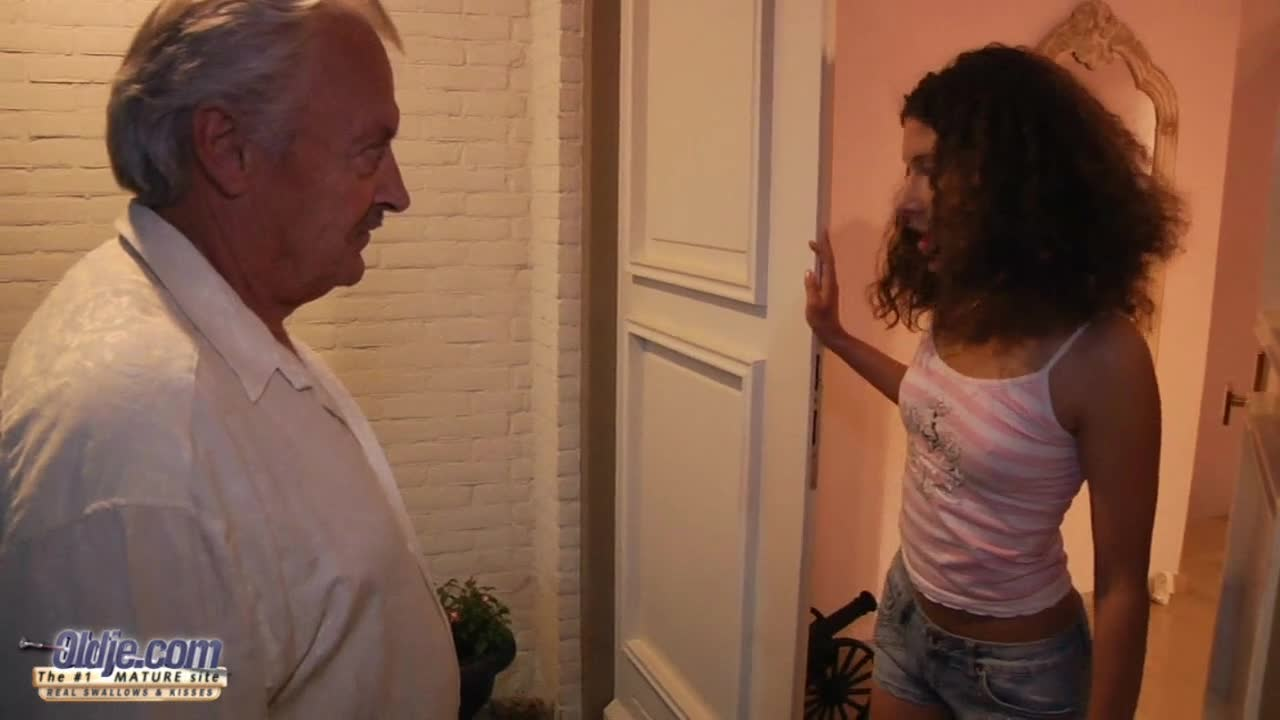 image Old euro guy gives anal to younger blonde slut