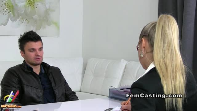 Female agent xxx video