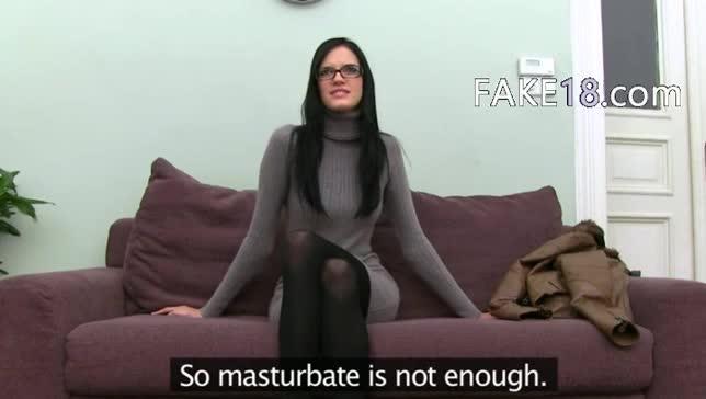 fake female agent tube