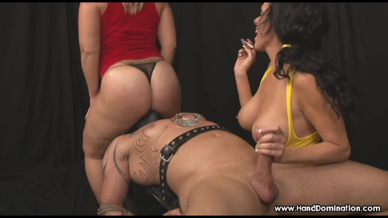 Big Ass Model Handjob