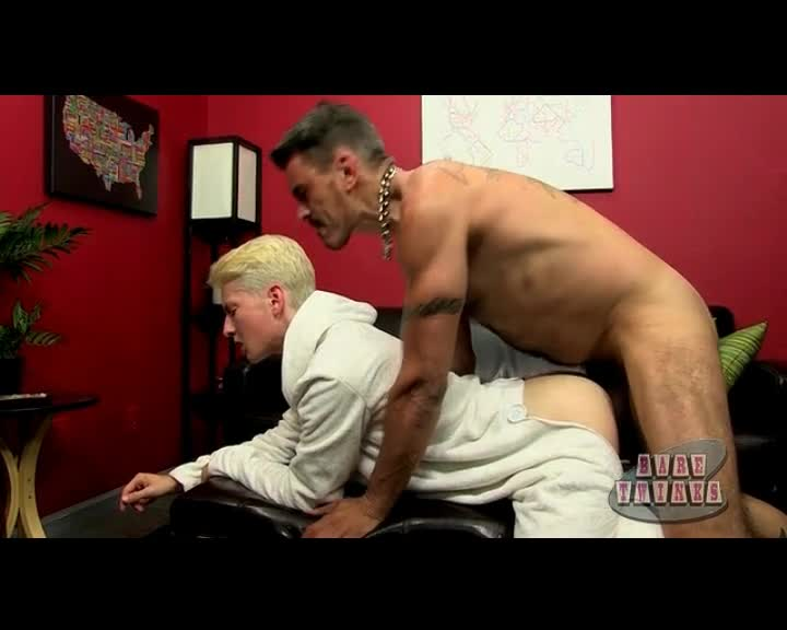 Blonde twink gets fucked