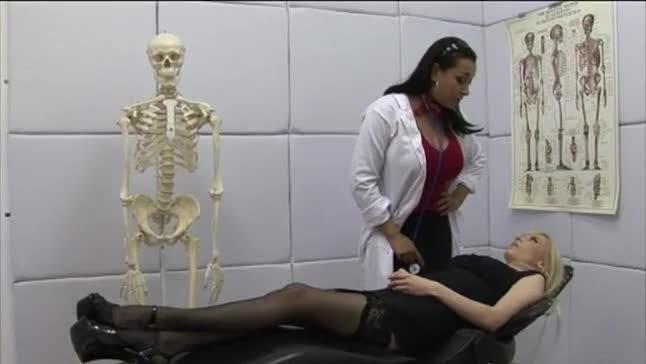 Female domination nurses stripping males