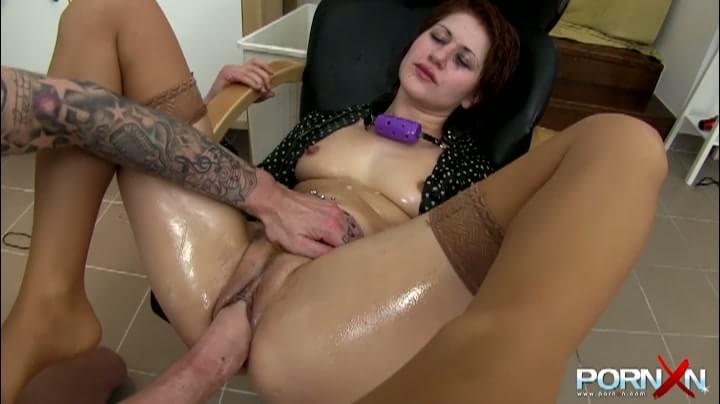 Perfect bitch thrust pulsing penis into the anus
